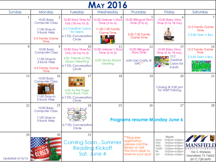 Mansfield-Public-Library-Calendar-May-2016