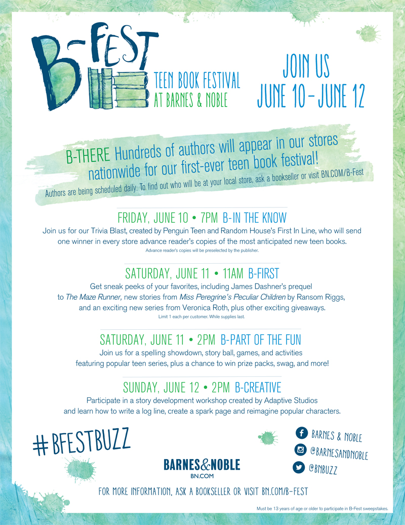 B-Fest-Teen-Book-Festival-June-2016