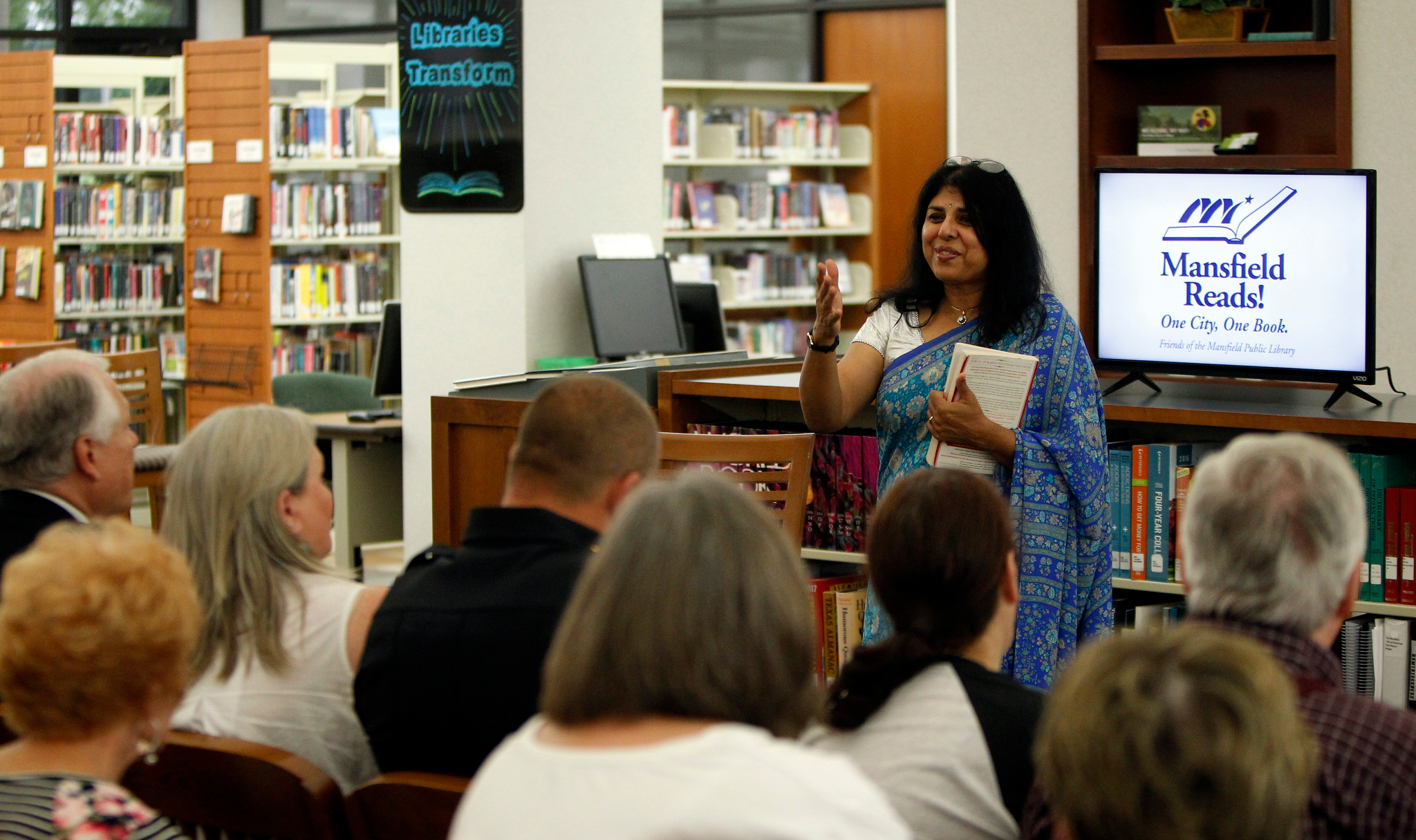 2017 Mansfield Reads with Chitra Divakaruni
