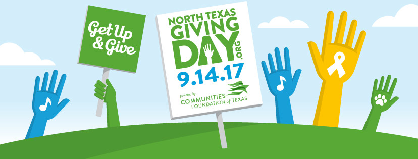 We are participating in North Texas Giving Day